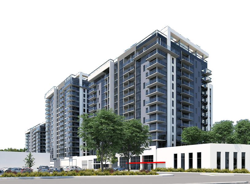 Imagem de um condomínio de prédios representando seguro Interatividade Corretora de Seguros